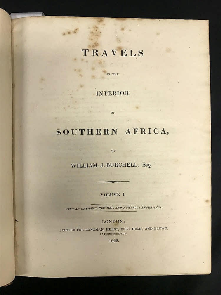 1822 Burchell Southern Africa