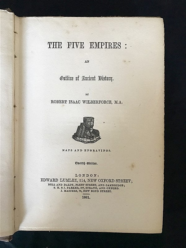 1861 Ancient History