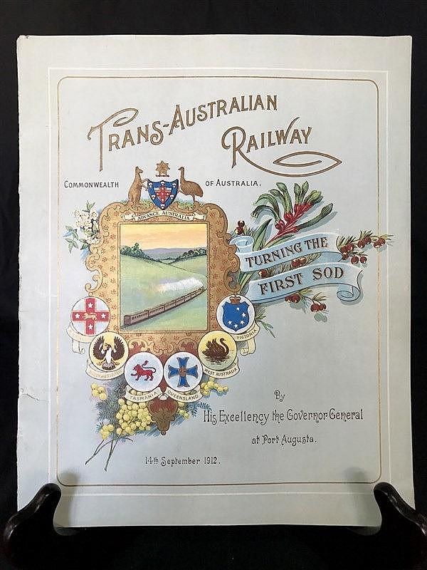 Trans-Australian Railway Souvenir