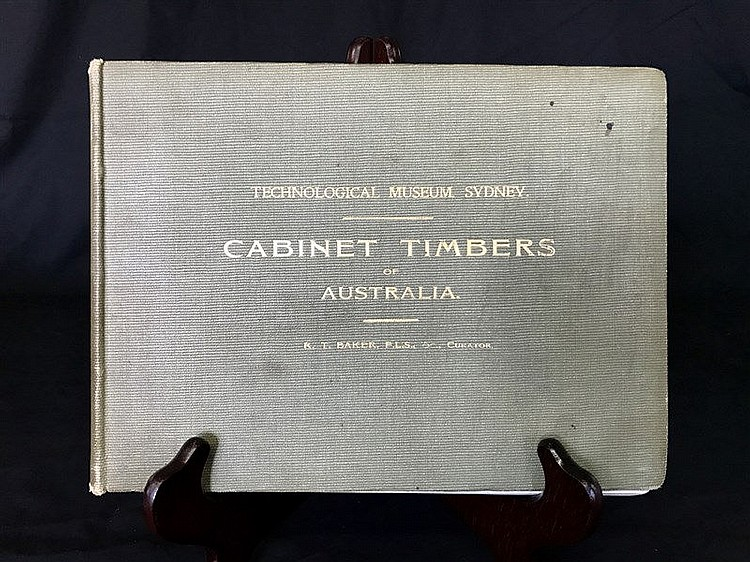 Richard T Baker Cabinet Timbers