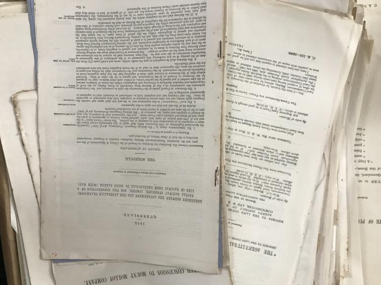 Queensland Parliamentary Papers 1860 - 1867