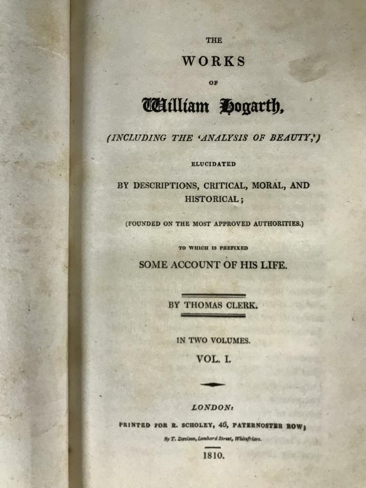 Hogarth's Works Vol I & II