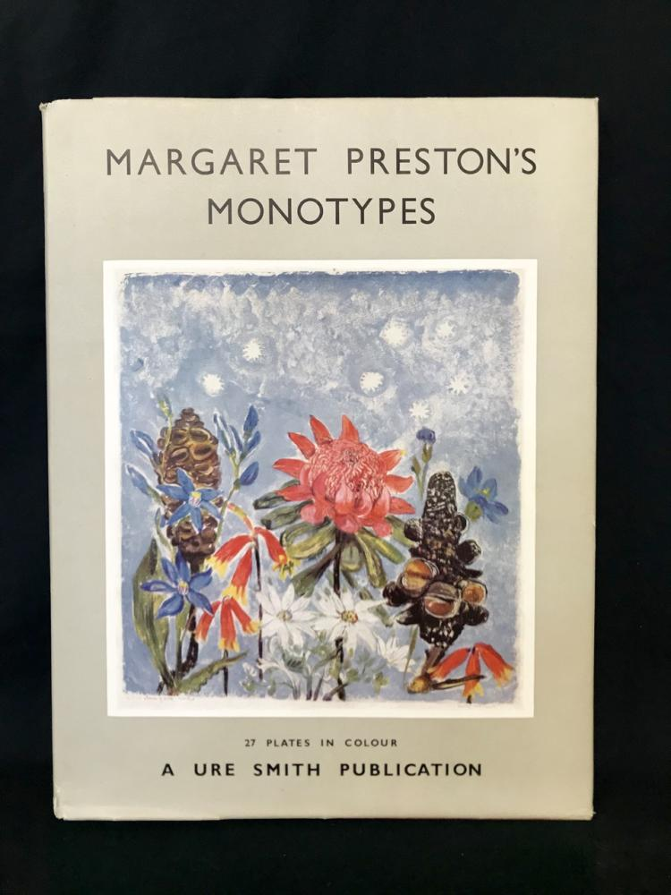 Signed Margaret Preston's Monotypes