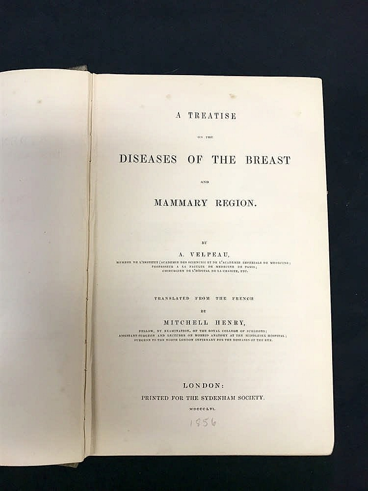 1856 Medical Diseases of the Breast