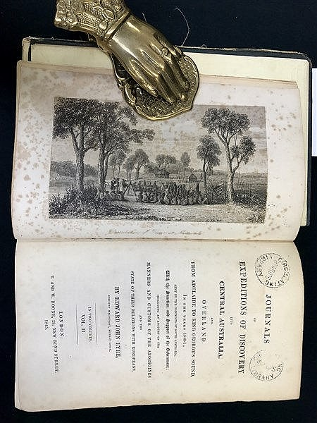 Eyre Expeditions 1845 (ex library)