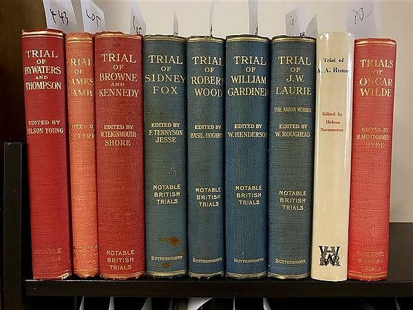 Notable British Trials x 9