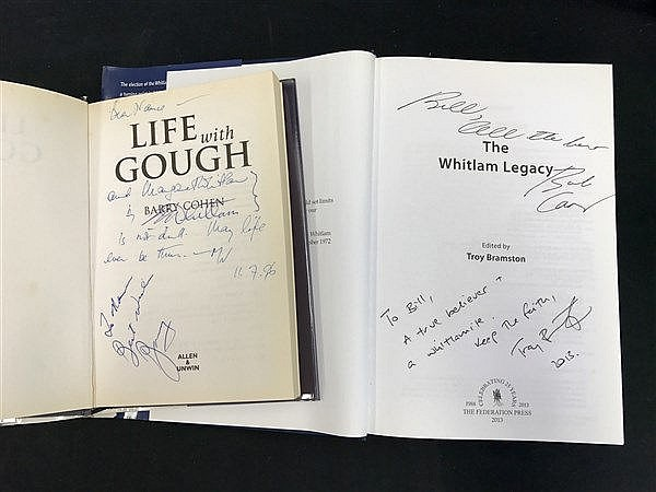 Signed by Gough Whitlam
