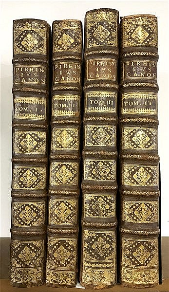 Fine Binding 1722 Jesuit Theology and Canon Law