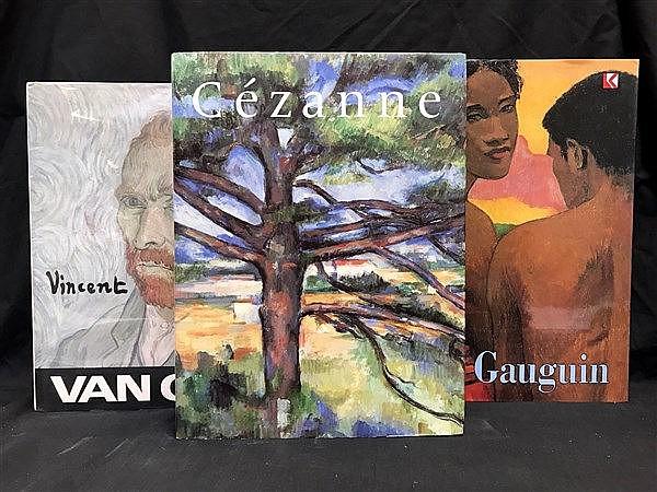 Gaugin, Van Gogh, Cezanne