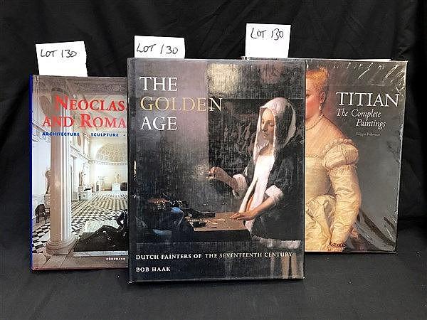 Art Books x 3