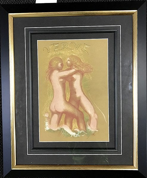 Maillol Lithograph