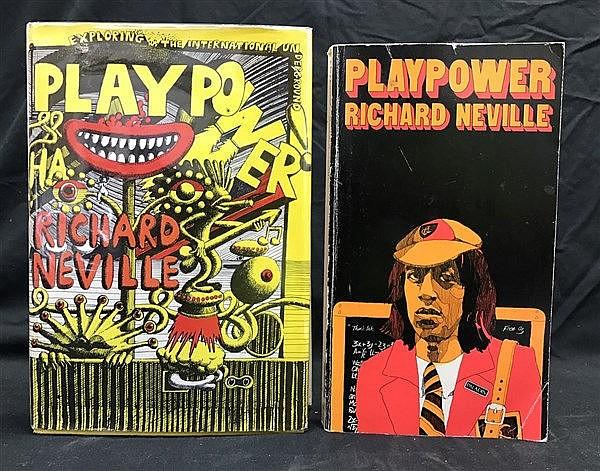Richard Neville Playpower x 2
