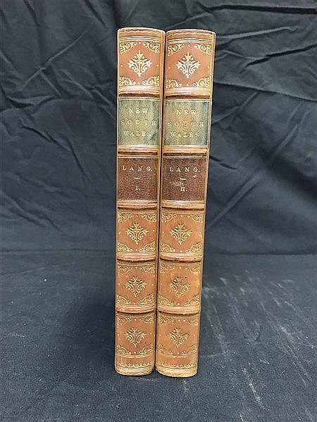 Fine Binding lang 1834 History of NSW