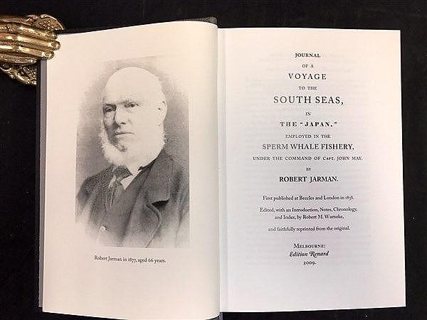 Sperm Whale Fishing 1838 Facsimile