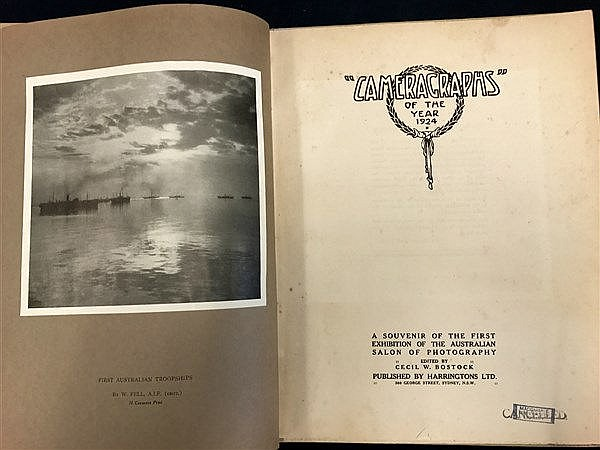 1924 Rare Australian Photograph Book