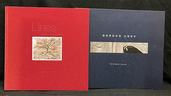Gordon Undy Photographs x 2 (Inscribed)