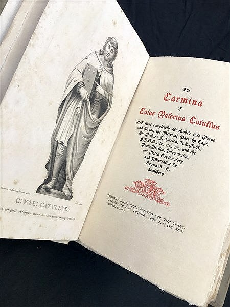 Fine Binding Catullus