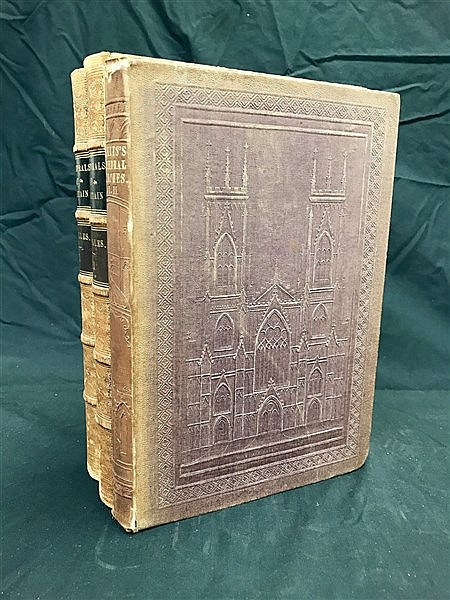 Fine Binding Cathedrals of Great Britain
