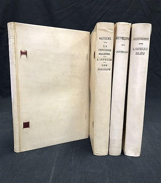 Fine Vellum French Bindings 1902