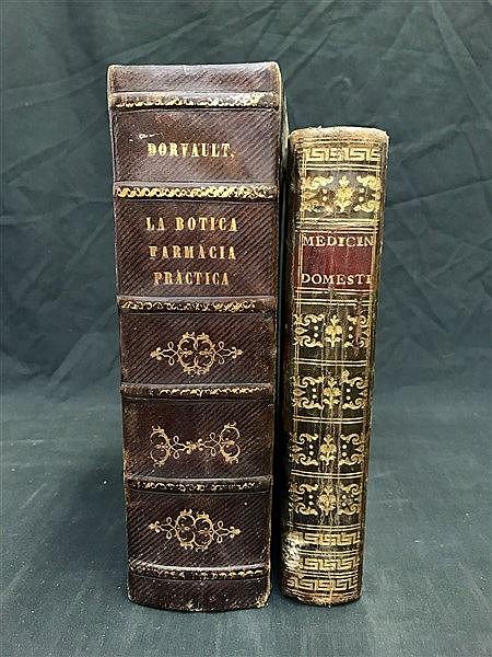 Fine Bindings Medicine / Botany (Spanish)