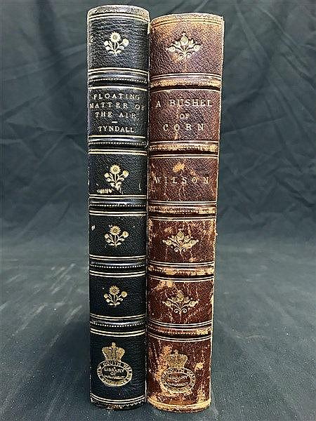 Fine Binding - 19th Century Bacteria / Botany