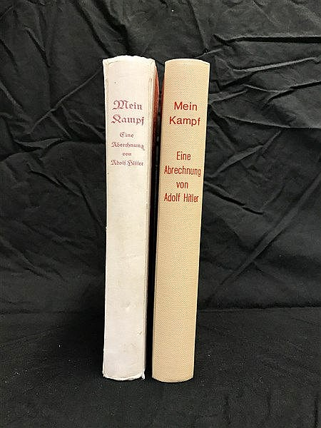 Mein Kampf  First Edition in two volumes