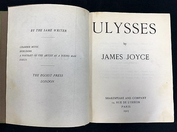 Ulysses James Joyce 1925