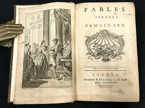 Fine Binding Fables for the Female Sex (1746)