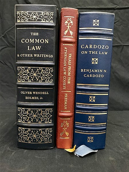 Fine  Binding Legal Classics Library x 3