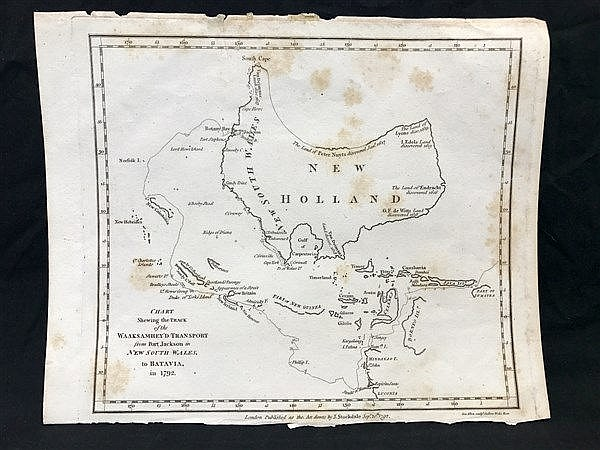 1792 New Holland Map