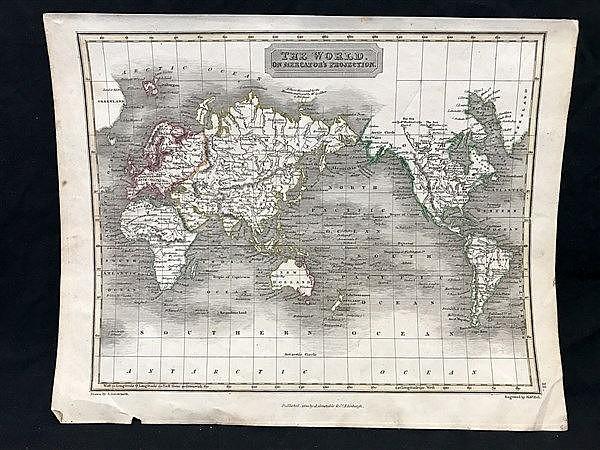 Arrowsmith Map c.1850