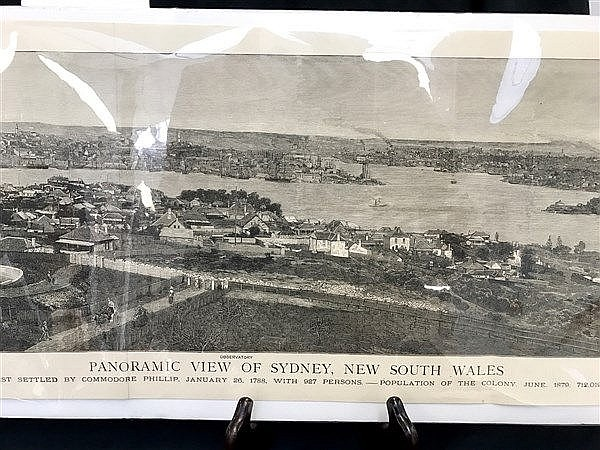 Panoramic View of Sydney 1879
