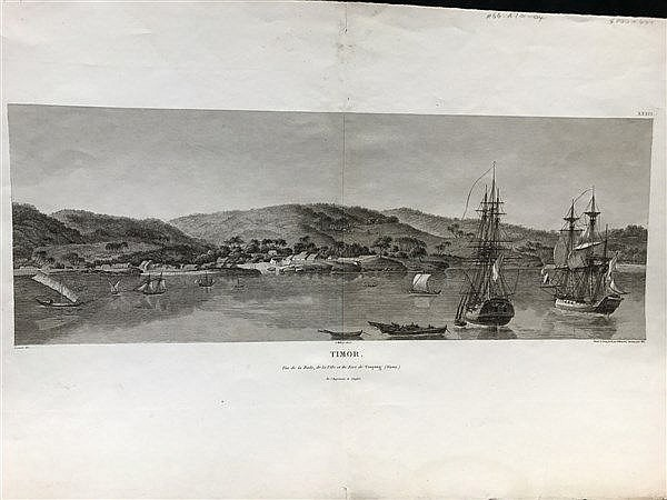 Leseur View of Timor, c.1801