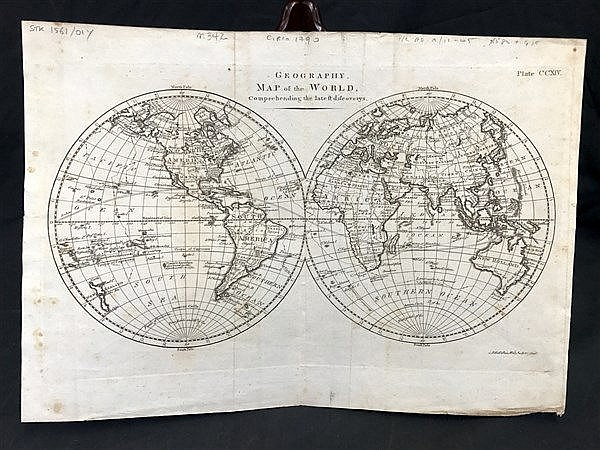 Hemisphere Maps x 2