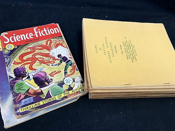 Index to Science Fiction Magazines