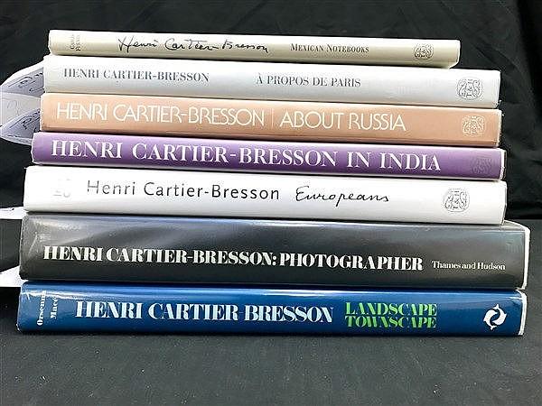 Henri Cartier-Bresson x 7