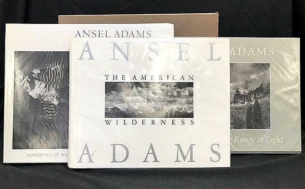 Ansel Adams x 3