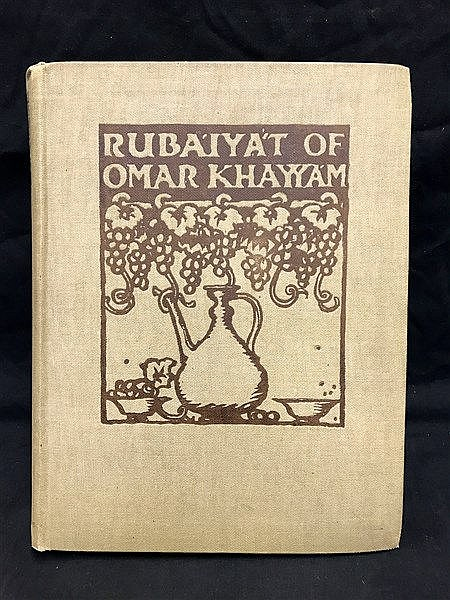 Rubaiyat illustrated by Brangwyn