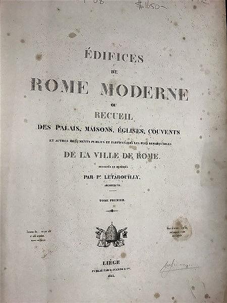 1843 Roman Architecture