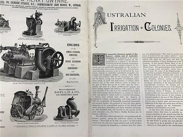 Chaffey Irrigation Colonies