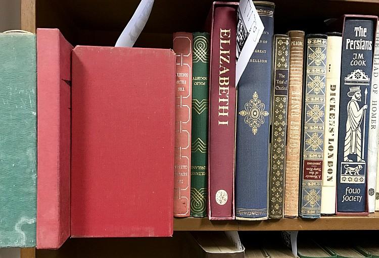Folio Society x 14