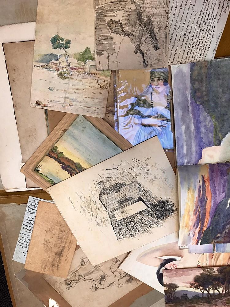 Original Nineteenth Century Art Works