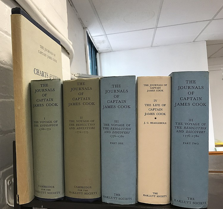 Hakluyt Society Journals of Captain Cook