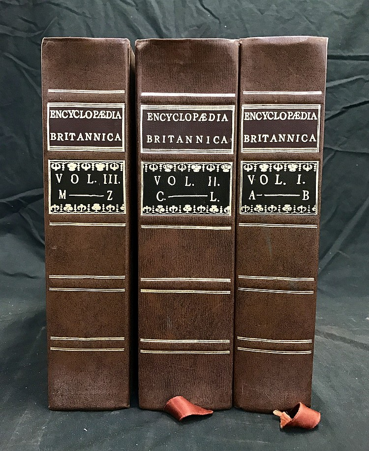 Encyclopedia Brittanica x 3