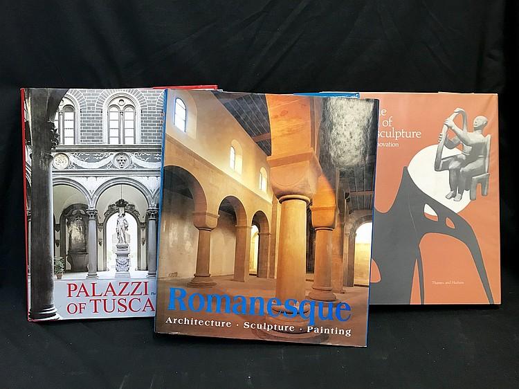 Sculpture and Palazzi x 3