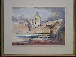 ROLAND SPENCER FORD (1902 - 1990) - Town bridge