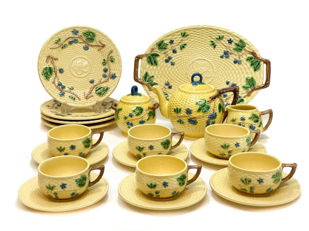 Tiffany & Co Portugal Porcelain Tea & Dessert Set