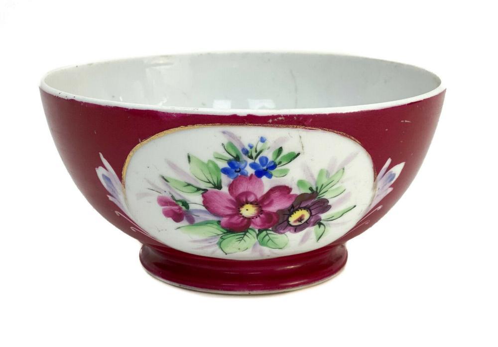 Gardner Imperial Russian Porcelain Bowl, c1890