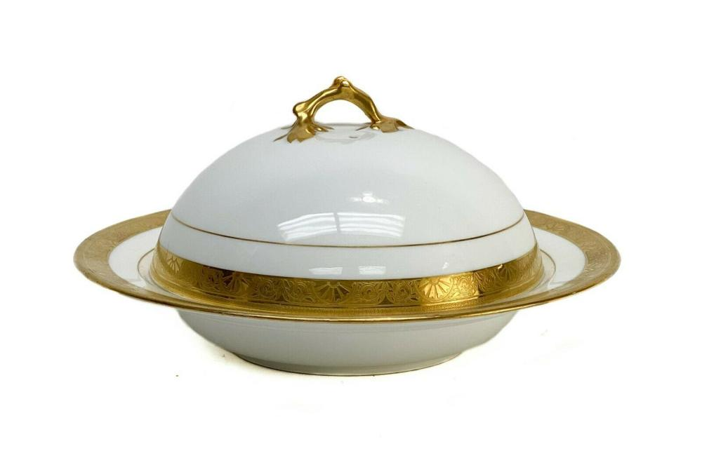 Minton for Tiffany & Co. Lidded Serving Dish c1900