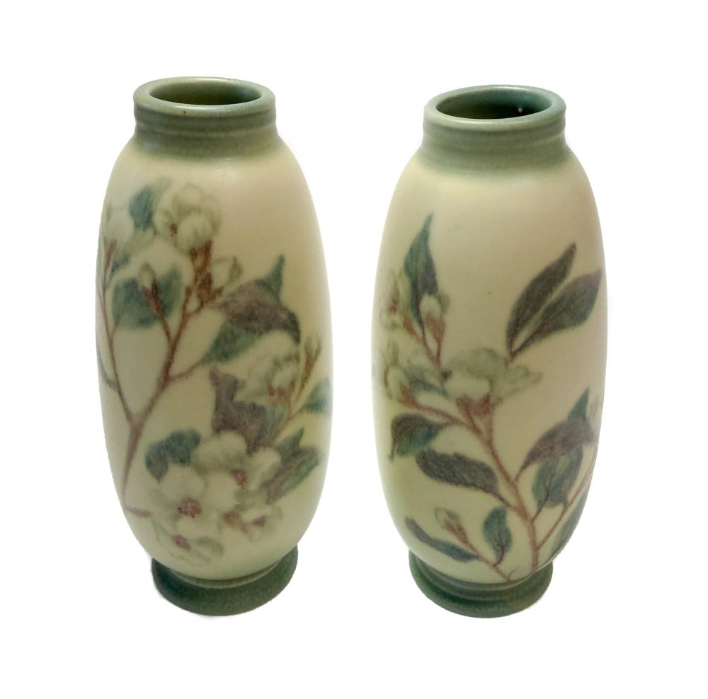 Pair of Rookwood Vases by Margaret H. McDonald